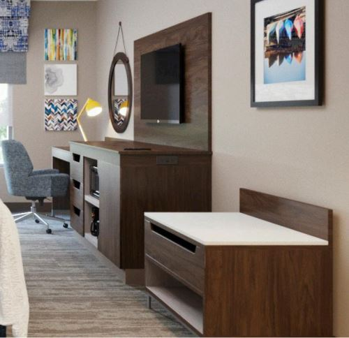 2019 Newest Design Nightstand Hampton Inn Hotel Furniture