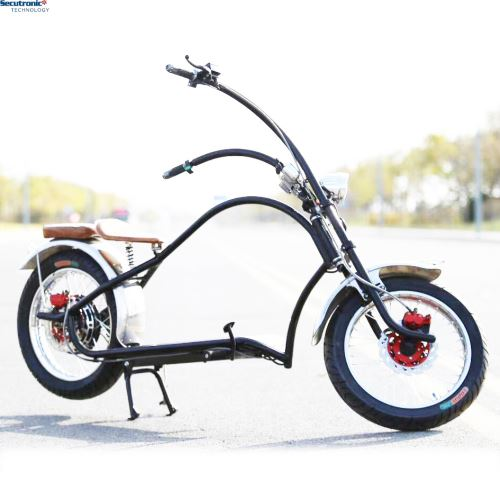 Harleys Dropship 60 Km/H American AC Vintage E Bike Electric Motorized Chopper Bicycle 1000 Watt