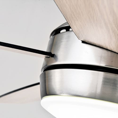 220V or 110V 5 blades decorative modern rustic low profile dining ceiling fan light for low ceiling