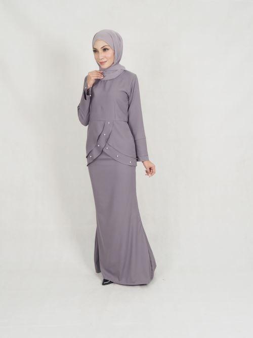 BRFD536-00111 - Alora Pearl Baju Kurung (BREASTFEEDING)