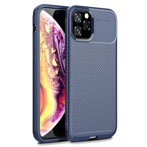 Laudtec Beetles Shockproof Carbon Fiber TPU Case For iPhone X XS Back Cover