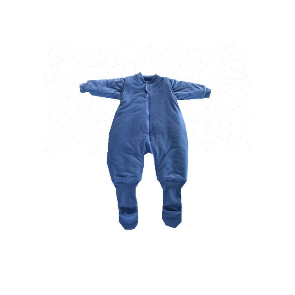 100% cotton 2.5 TOG baby sleeping romper, baby long sleeve romper