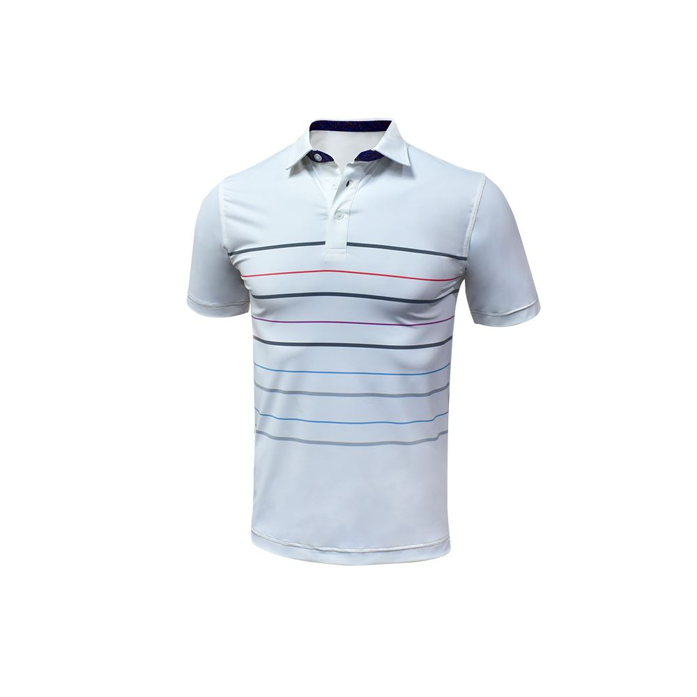 High Quality Low Price 100 Pcs Moq For Summer Vacation Uv Protection White Golf Polo Shirt
