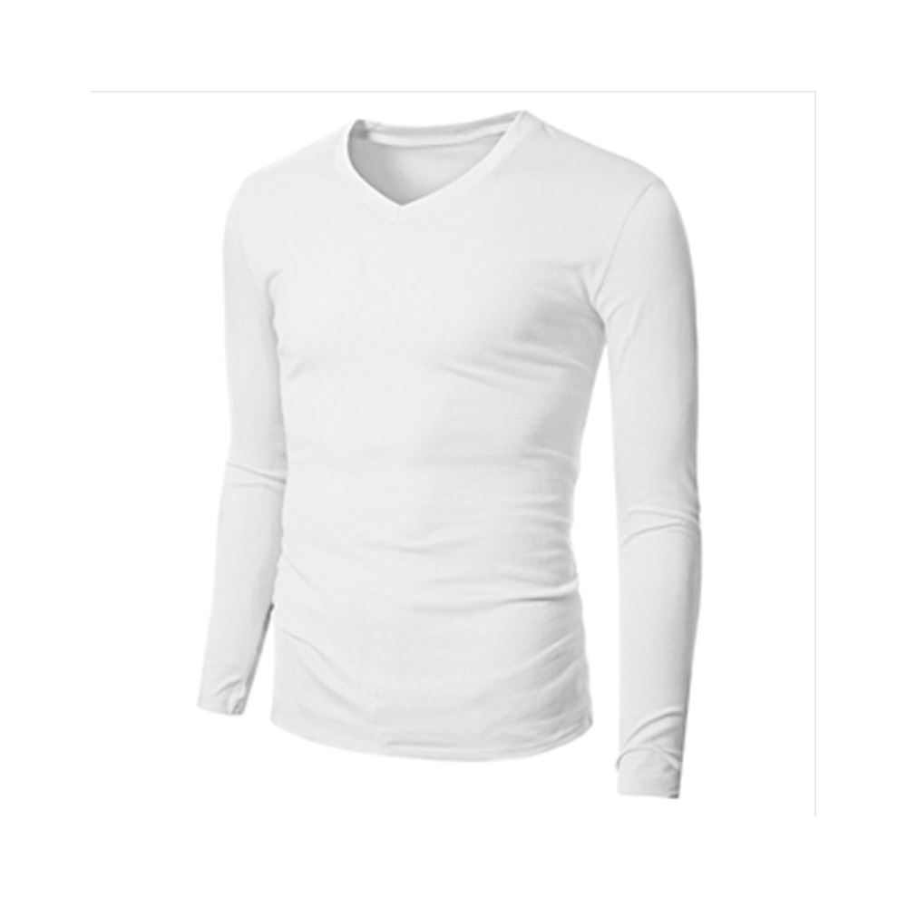 Men'S Polo Dry Fit T-Shirt Long Sleeve Cotton Polyester T Shirt Men'S Polo T-Shirt For Sportswear
