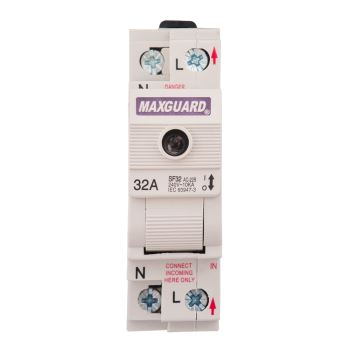 Switchfuses (SF series) 1Pole + N (32A)