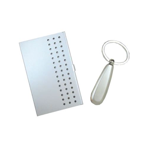 Card Holder & Key Chain Set
