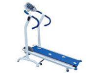 Magnetic Foldable Flat Treadmill (Blue)